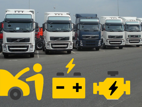 Автоэлектрика грузовых автомобилей от 3,5 тонн